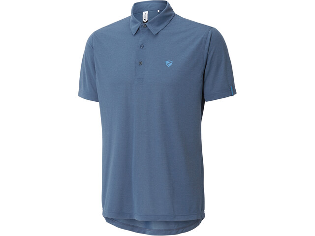 Ziener Canot Poloshirt Heren, antique blue